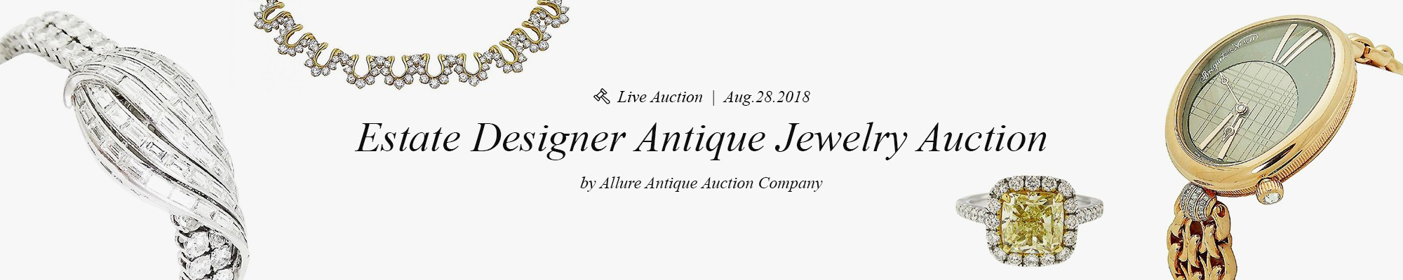 Estate Designer Antique Jewelry Auction - Allure Antique Auction Company