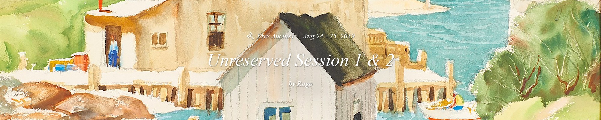 Unreserved session 1 & 2 - Rago