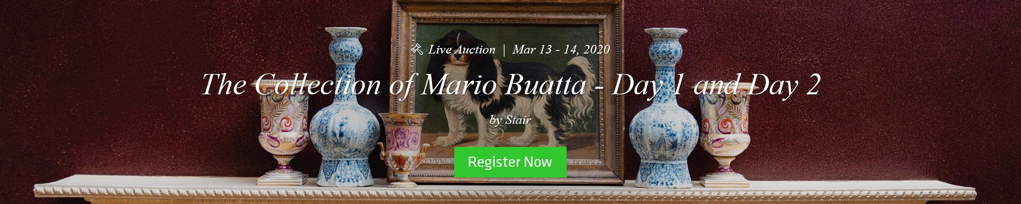 Get Ready for The Collection of Mario Buatta. Pre-register Now!