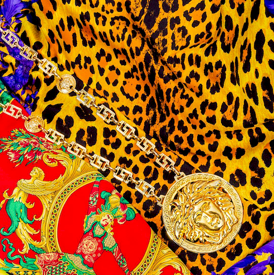 9cd8894bfc Iconic 90s Vintage Versace at Auction - On The Square   Bidsquare