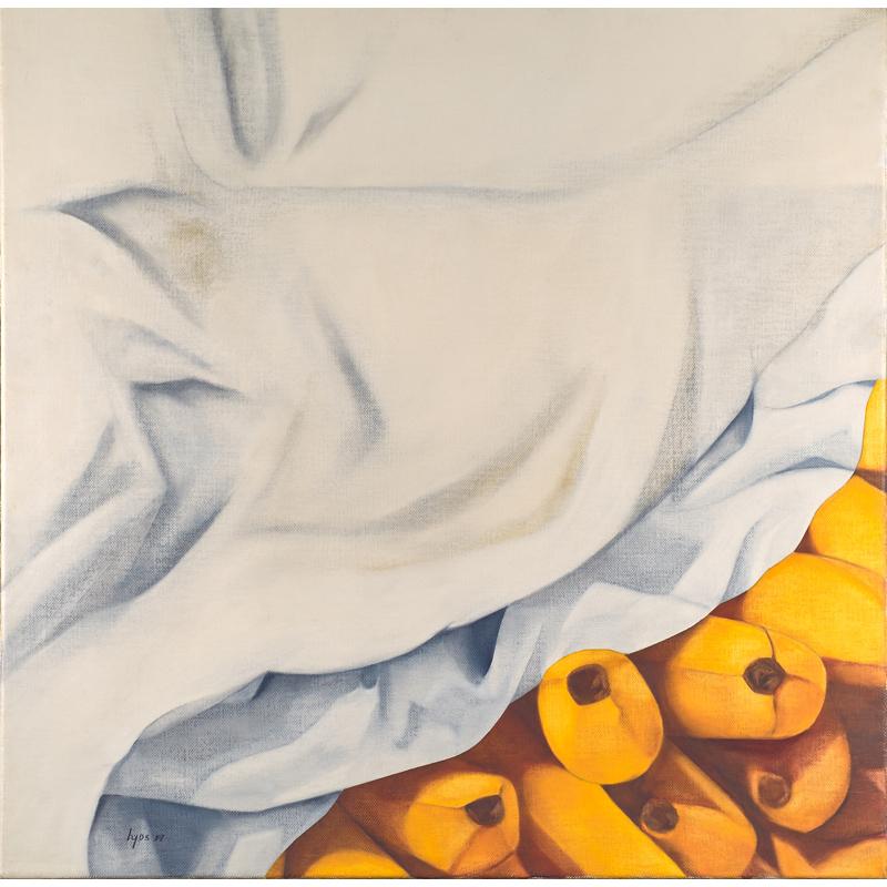 Ana Mercedes Hoyos, Untitled (Bananas), Oil on canvas, 1991