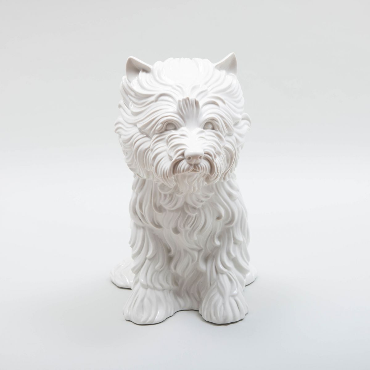 Jeff Koons, Puppy, Glazed porcelain, 1998