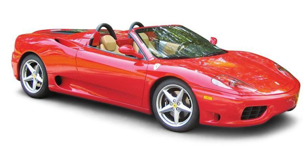 Ferrari In Your Future On The Square Bidsquare