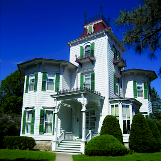 Property from the Strawberry Lace Inn Bed and Breakfast, Sparta, Wisconsin by Hindman