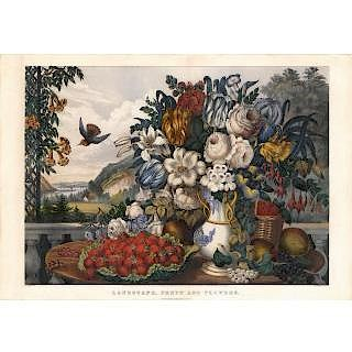50 Lithographs by Currier & Ives by The Old Print Shop, Inc