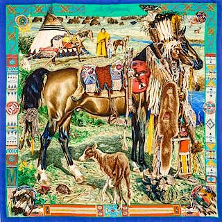 Hermes Scarves Online Only by Hindman