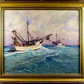 Paintings, Bronzes, Porcelain by Broward Auction Gallery