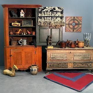 Mid-Winter Antique Auction by Wiederseim Associates, Inc.