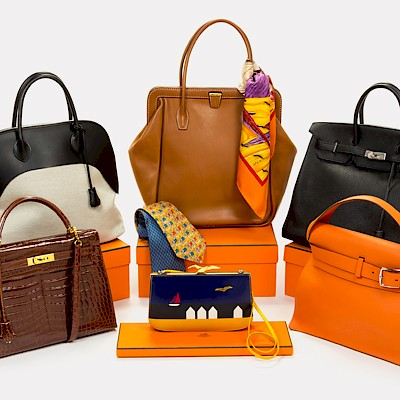 Hermes Handbags, Fashion and Accessories      by Hindman
