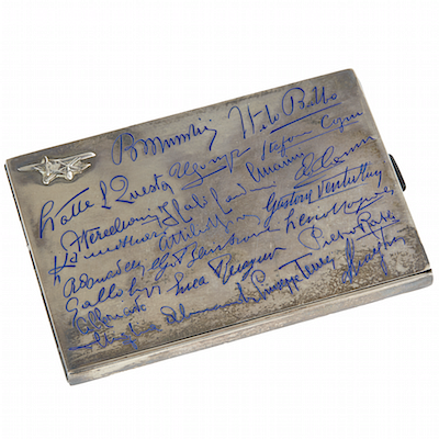 American Aviators Auction: Lindbergh, Earhart, Rickenbacker and Associates by Witherell's