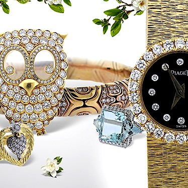 Fine Jewelry & Watches by Hampton Estate Auction