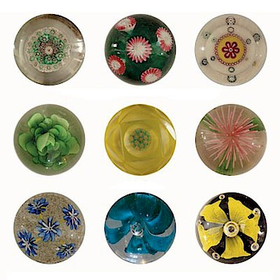 Glass Paperweight Auction  by Childress Gaffney Auctions