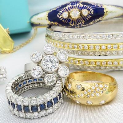 Designer & Estate Fine Jewelry - No Reserves by MJ Gabel
