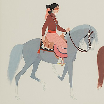 The Patricia Janis Broder Collection of 20th Century American Indian Art by Santa Fe Art Auction