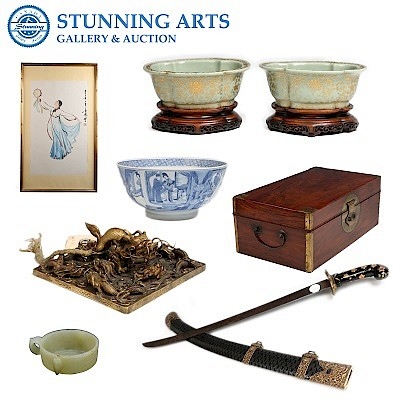 JUNE TORONTO ASIAN ART WEEK AUCTION by Stunning Arts Gallery and Auction Inc.