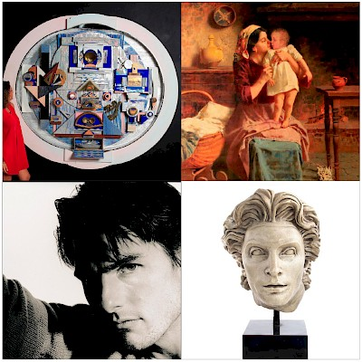 Classic and Contemporary Art Auction by Whitley's Auctioneers & Lion and Unicorn