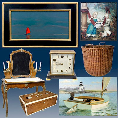 Fine Art, Decor and Antiques from Nantucket Estates & Collections by Rafael Osona Auctions