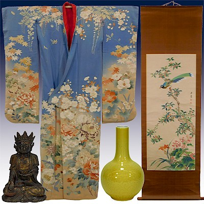 Kimono & Japanese Art - The Alex Murray Collection	 by Bruneau & Co. Auctioneers