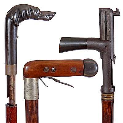 Antique and Collectible Gun, Sword, Folk Art & Dress Canes by Kimball Sterling