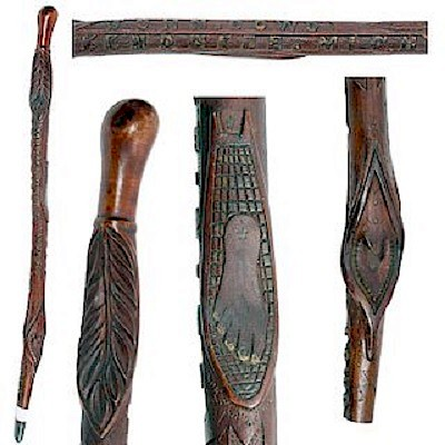 Antique Canes December by Kimball Sterling