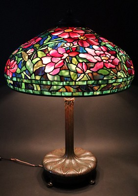 Important Tiffany Lamps, Lalique Glass, Fine Art, Jewelry and More by Clarke Auction