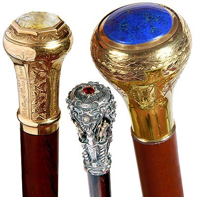 Antique Cane Auction by Kimball Sterling