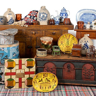 Online Only Decorative Arts Auction by Pook & Pook, Inc