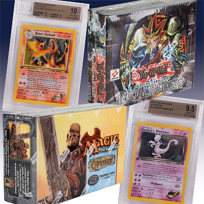 Single Owner Pokemon & Trading Card Online Only Auction by Bruneau & Co. Auctioneers