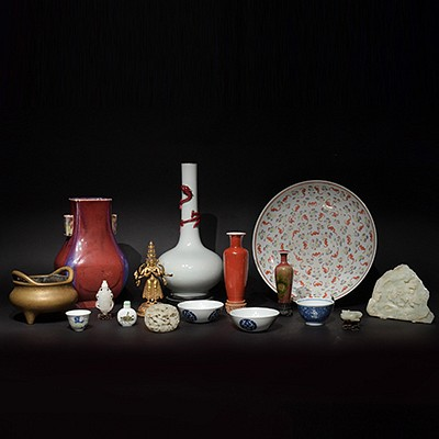Asian Art & Antiques - Ceramics and Works of Art by Oakridge Auction Gallery