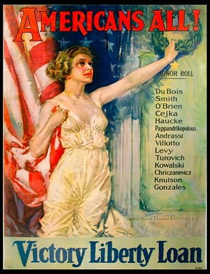 Hilman Walker Collection of World War I & II Posters by Turner Auctions + Appraisals LLC