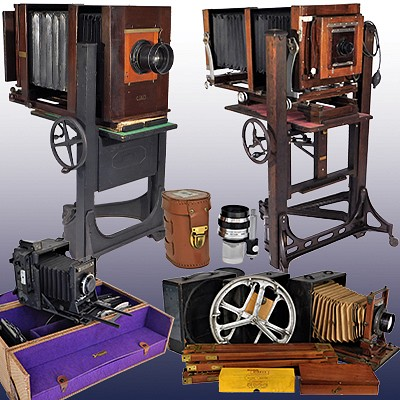 Single Owner Large Format Camera Auction by Bruneau & Co. Auctioneers