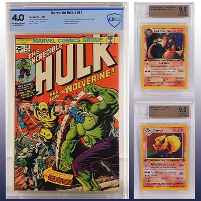 Curated Pop Culture, TCG, Comic & Toy Online Auction by Bruneau & Co. Auctioneers
