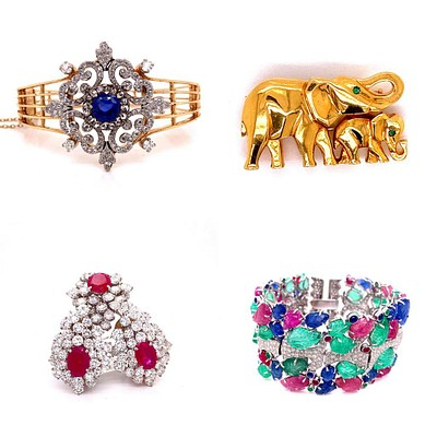 AUCTION IX A Collection Of Fine Jewelry by Intervendue