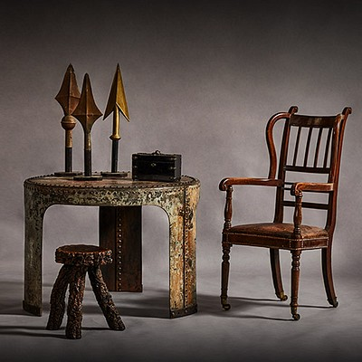 Traditional Decorative Arts Pieces with a Modern Twist by Stash by Lee Stanton