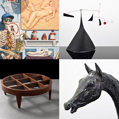 Modern Art & Design, 3 Sessions: Fall 2020 by Palm Beach Modern Auctions