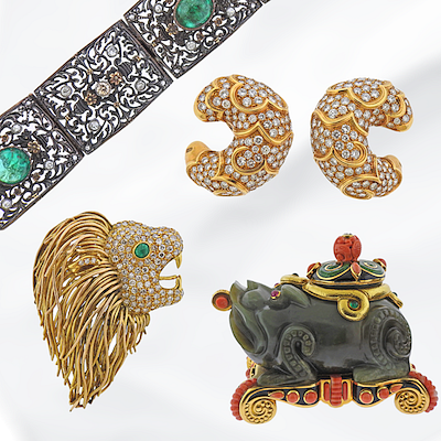 Select Antique Jewelry & Watches by SAJ Auction