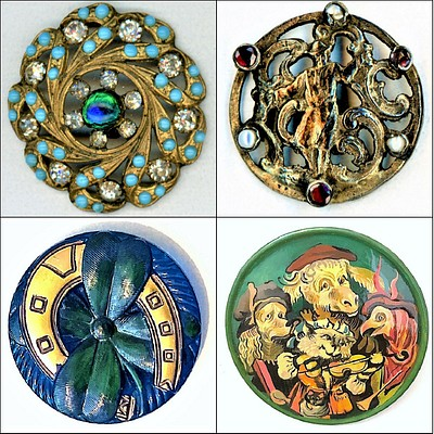 October Button Collector's Auction, Day 1 by Whitley's Auctioneers