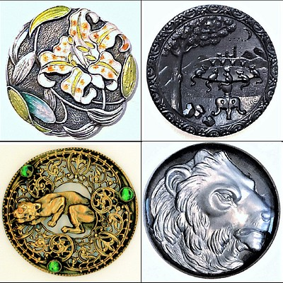 October Button Collector's Auction, Day 2 by Whitley's Auctioneers & Lion and Unicorn