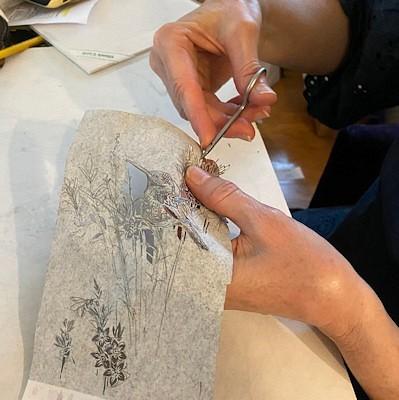 Lucrezia's Papercutting Shop by Lucrezia Bieler