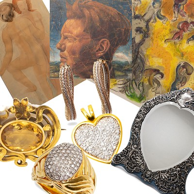 ASIAN, JEWELRY, SILVER, FINE ART and DÉCOR by COLLECTive Hudson