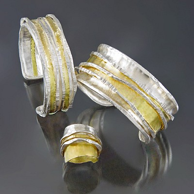 A Gold & Silver Holiday Season by Sana Doumet Jewelry