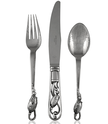 Georg Jensen Silverware for New Year's  by Greg Pepin Silver