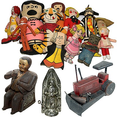Don Squibb Estate, Toys, Collectibles, Candy Containers and Molds, Advertising Etc by Kimball Sterling