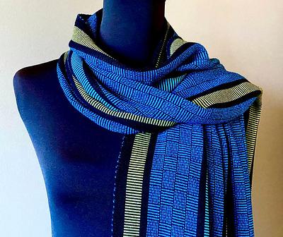 Sosumi Handwoven Bamboo Fiber Scarves by Pamela Whitlock & Richard Davidson
