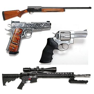 Fine Custom 1911's, and Other Firearms-  50 Year Collection by Kimball Sterling
