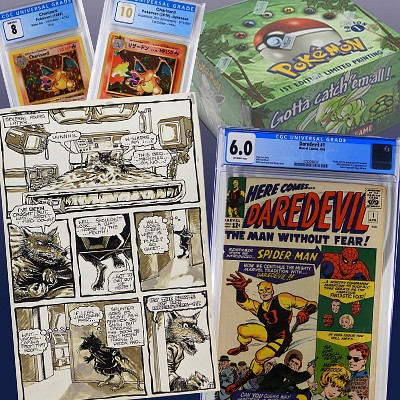 Spring Comic, TCG & Toy Auction by Bruneau & Co. Auctioneers