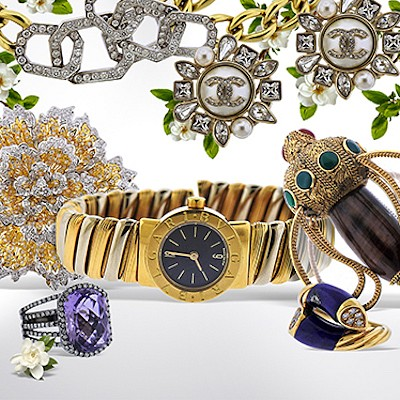 Fine Jewelry and Watches by Hampton Estate Auction