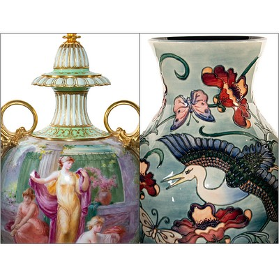 Spring British Ceramics Auction by Whitley's Auctioneers & Lion and Unicorn