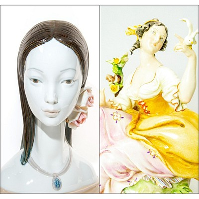 Spring European Porcelain Collectibles by Whitley's Auctioneers & Lion and Unicorn