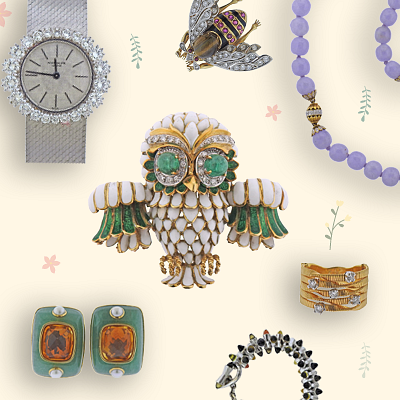 May Jewels and Timepieces by A Touch of the Past